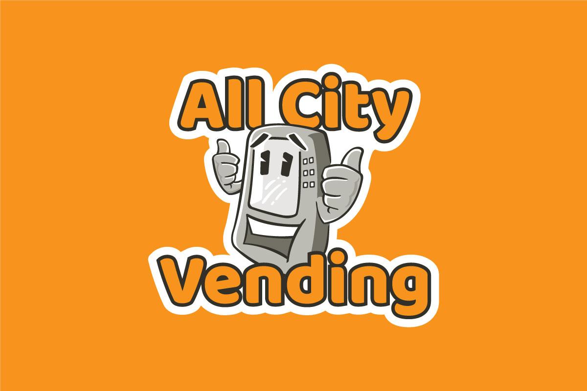 All City Vending Logo Orange