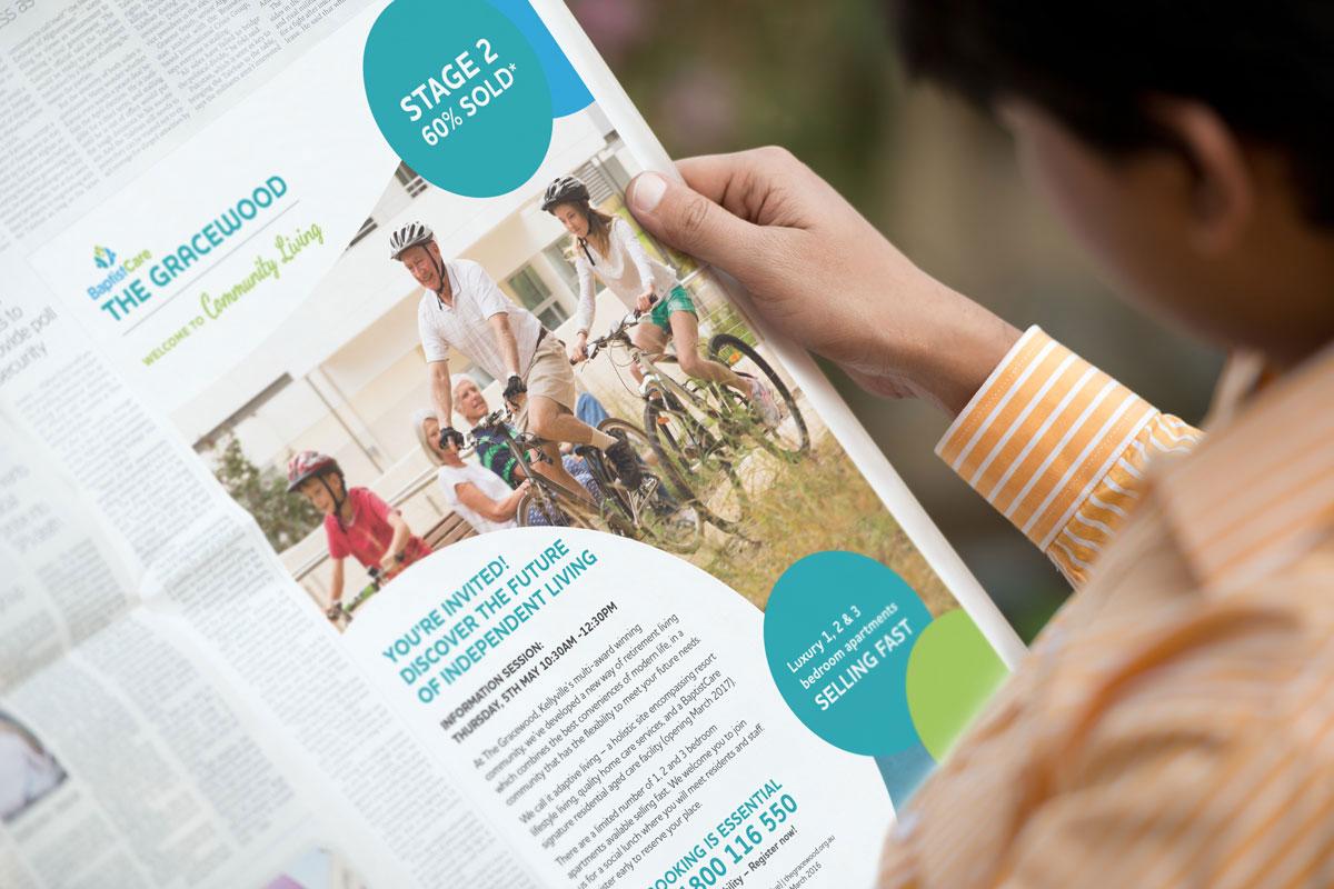 Baptist Care – The Gracewood Newspaper ad