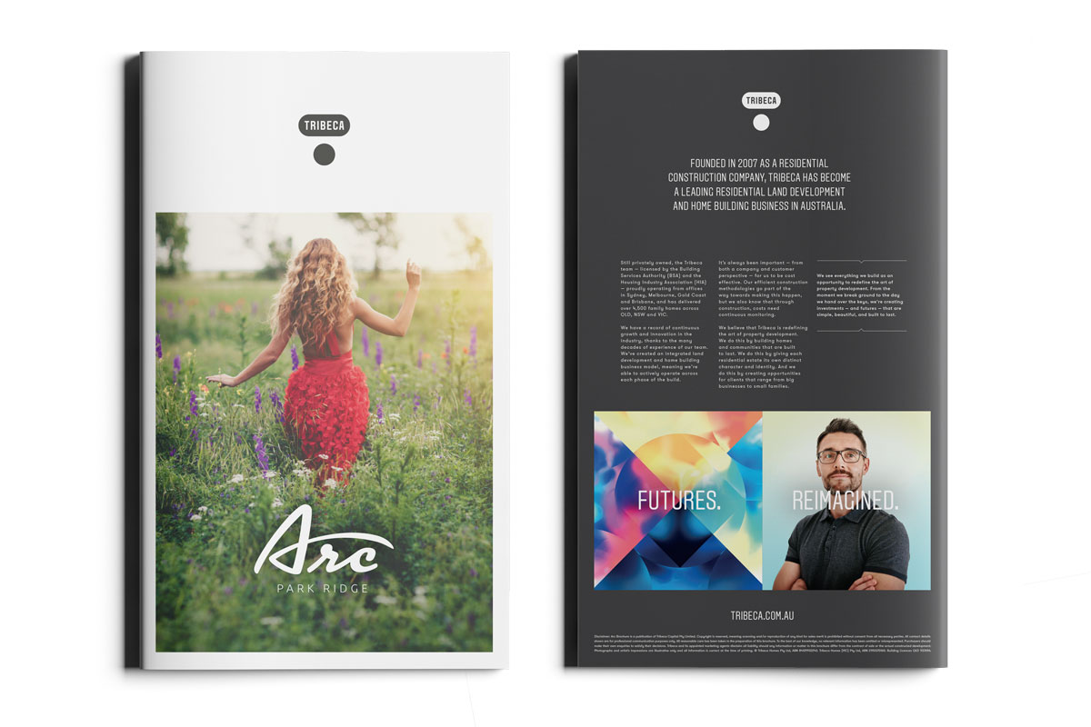 Arc Park Ridge brochure design