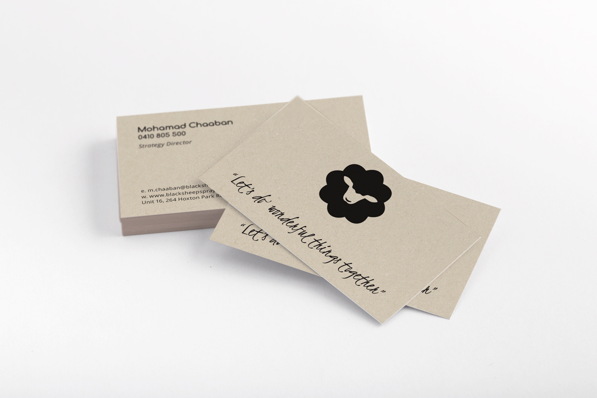 Black Sheep Business Card Design