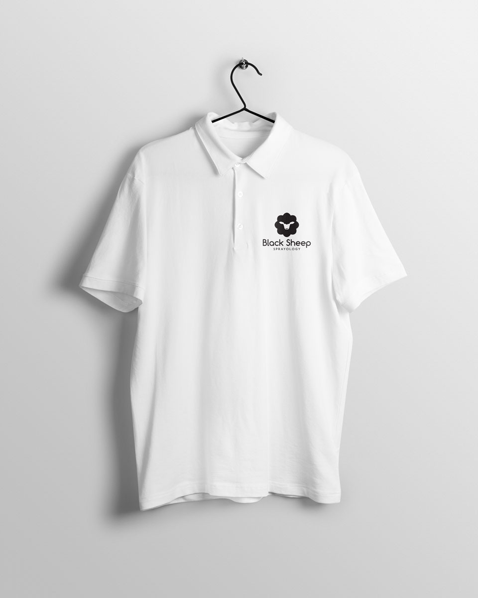 Black Sheep polo front