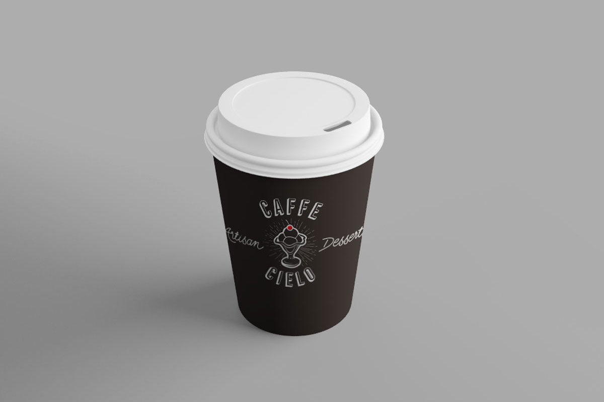 Caffe Cielo Coffee Cup