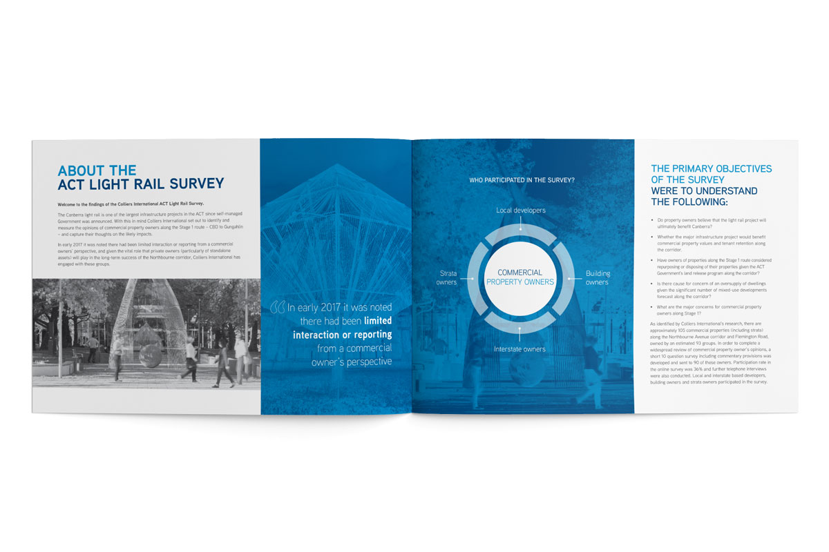 Colliers ACT Light Rail Survey
