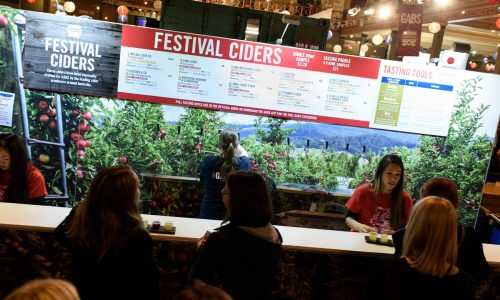 GABS 2016 Cider menu