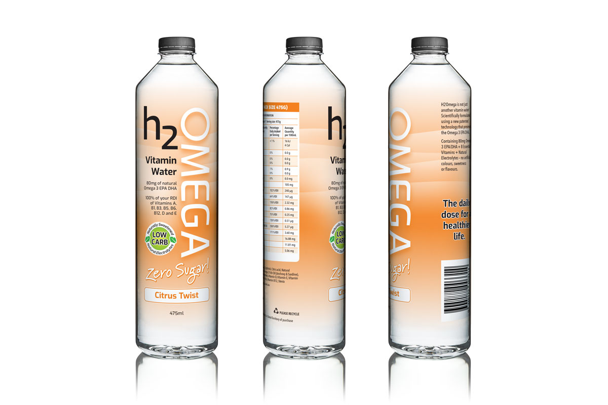 H2Omega Packaging Desgn