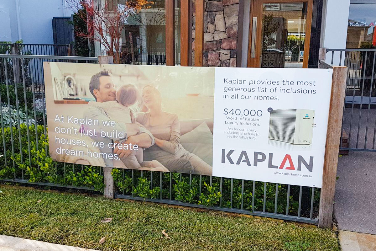 Kaplan Outdoor Signage