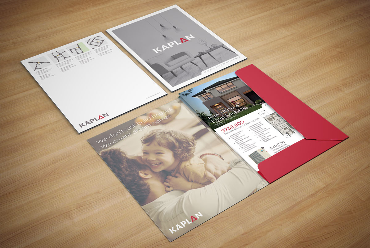 Kaplan Homes Presentation Folder