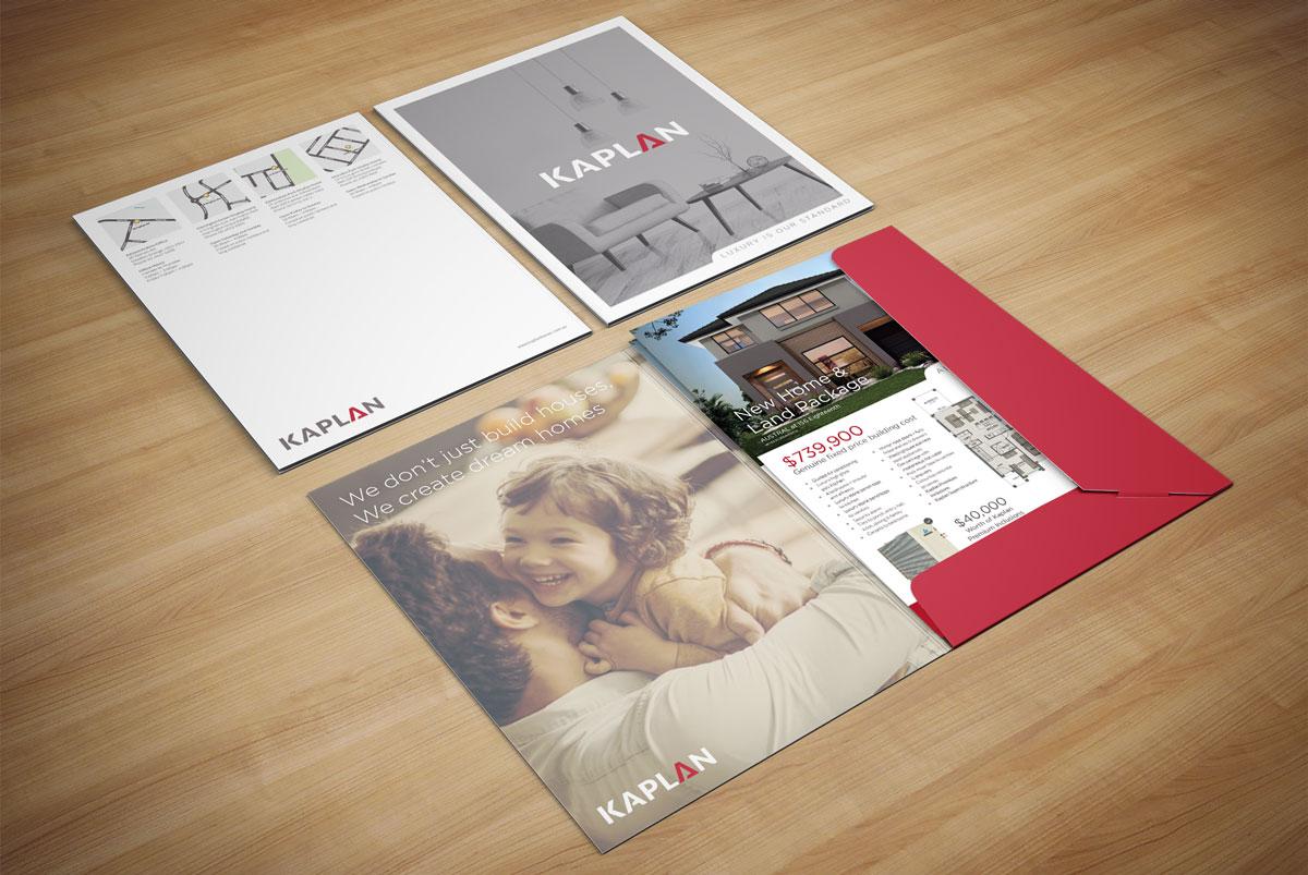 Kaplan Homes Presentation Folder