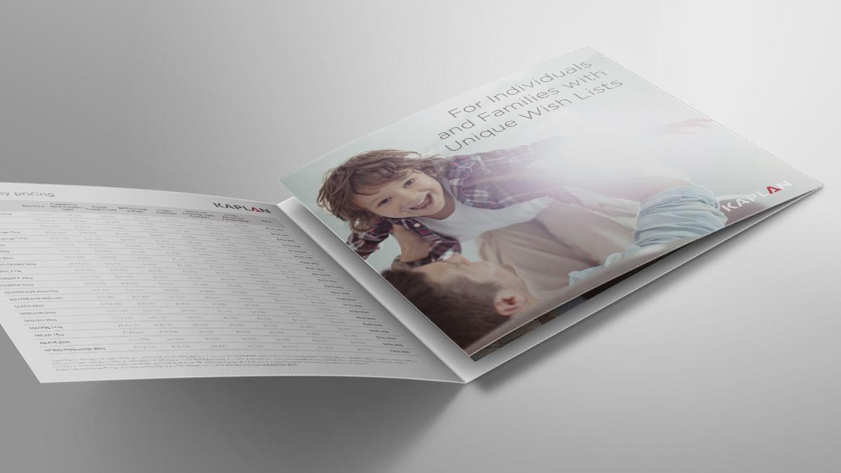 Kaplan Homes Roll Fold Price List Brochure