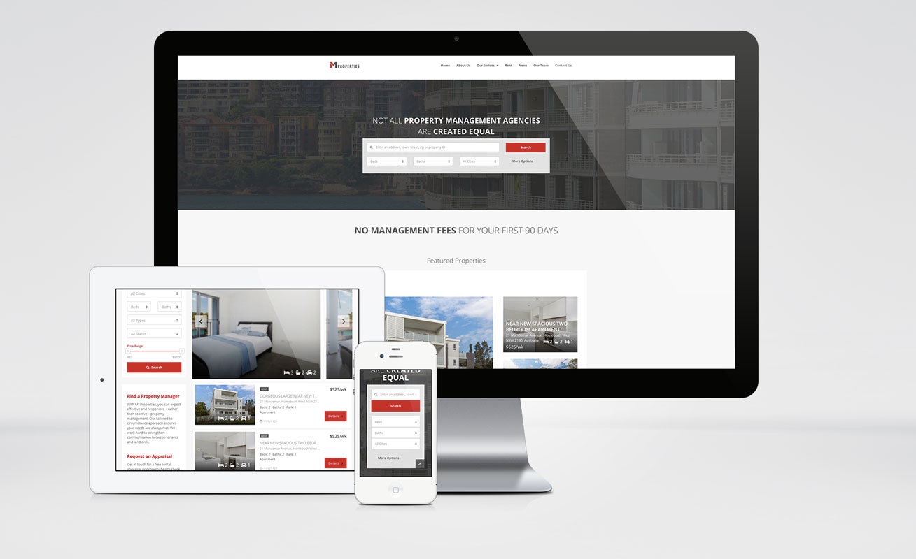 M1 Properties Website