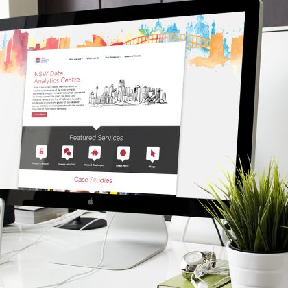 NSW Data Analytics Centre (DAC) Website Design