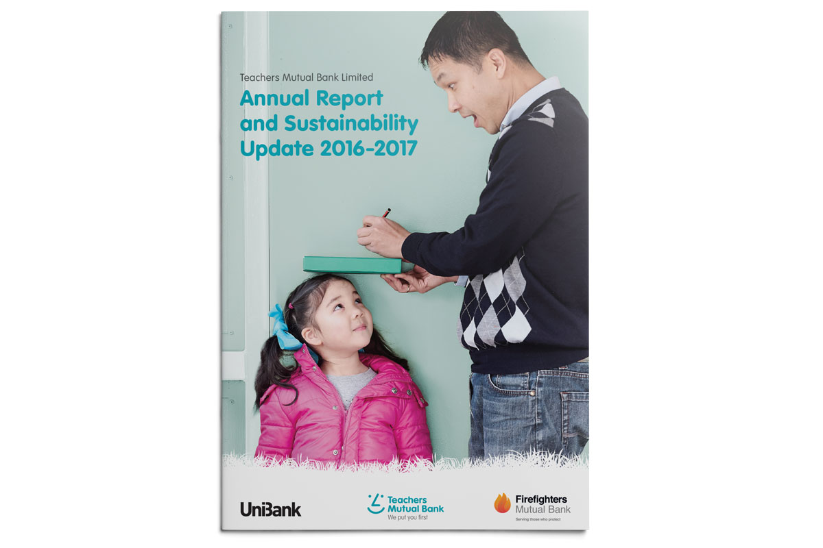 Teacher's Mutual Bank Limited Annual Report Design