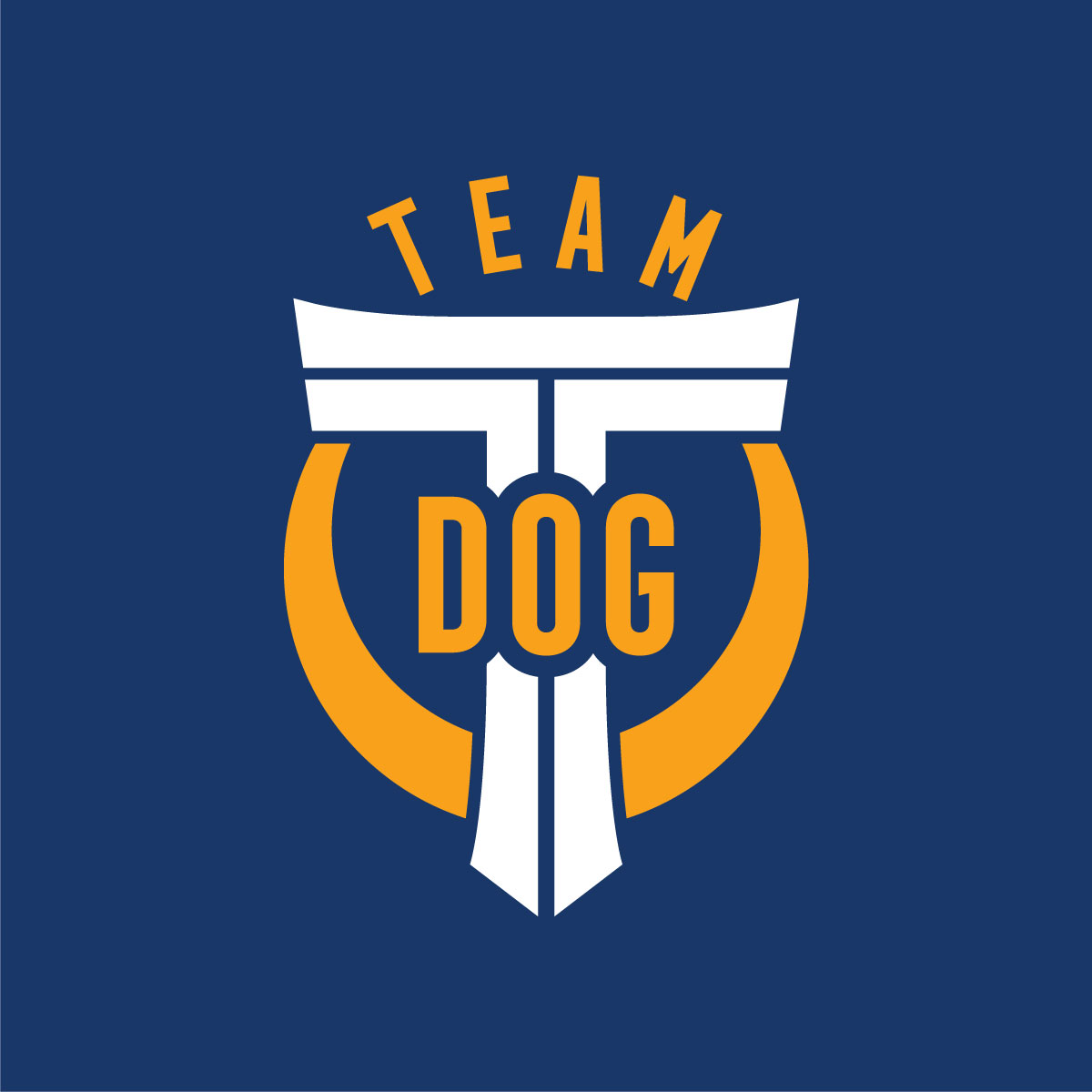 Team T-Dog, Tsuneari Yahiro, Logo Yellow-White