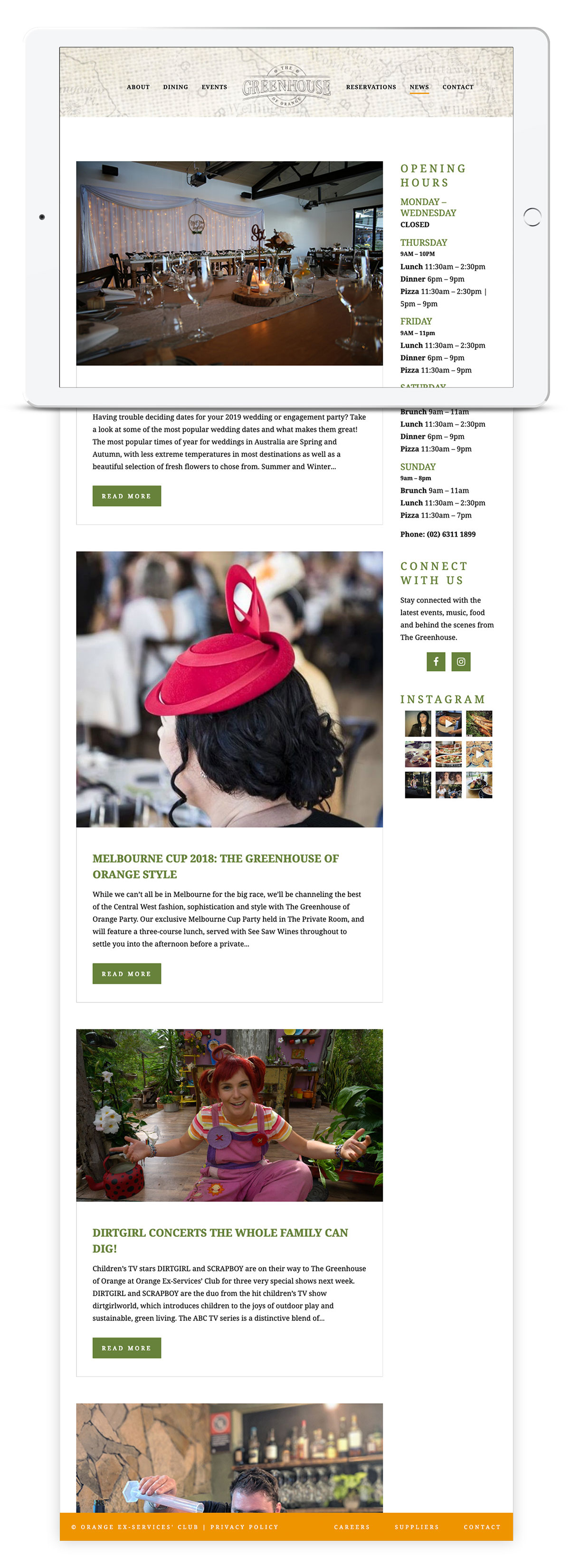 The Greenhouse of Orange blog